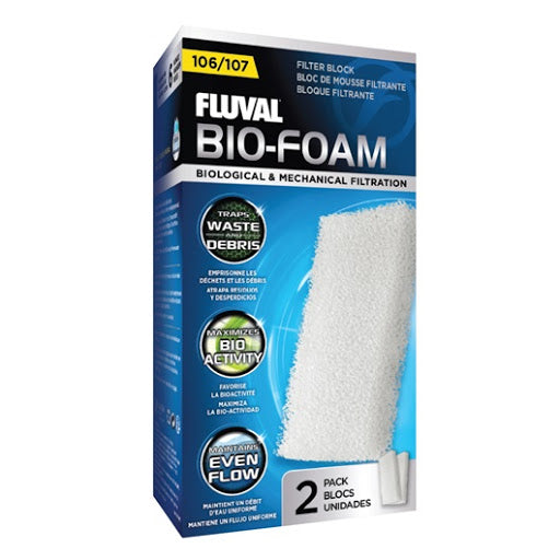 Fluval 104/5/6 Foam Filter Block 2 Pack