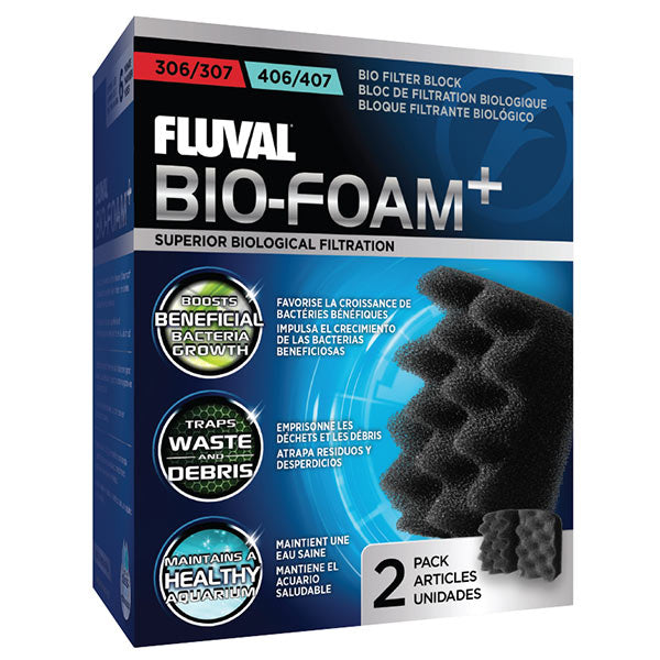 Fluval Bio-Foam for External Filters 304, 305, 306, 404, 405, 406 - 2 Pack