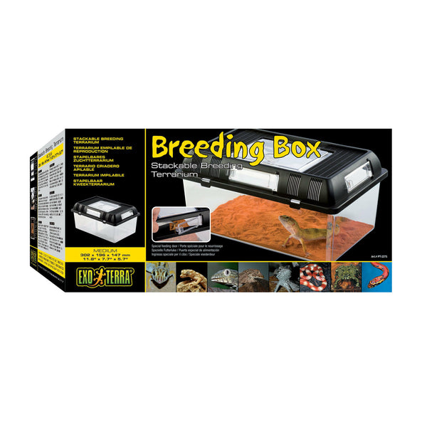 Exo Terra Breeding Box Medium 30x19x14cm