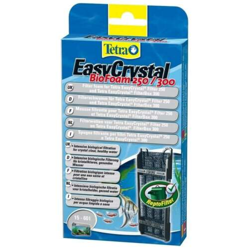 Tetra Easy Crystal Aquarium Fish Tank Filter BioFoam Media 250/300