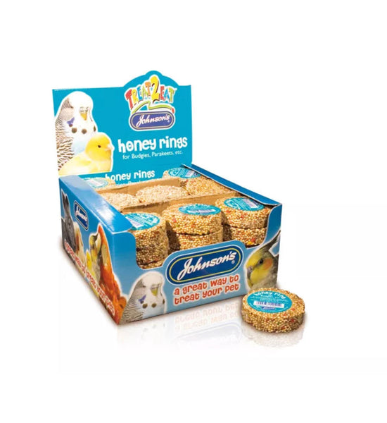 Johnsons Budgie Honey Rings 25gr