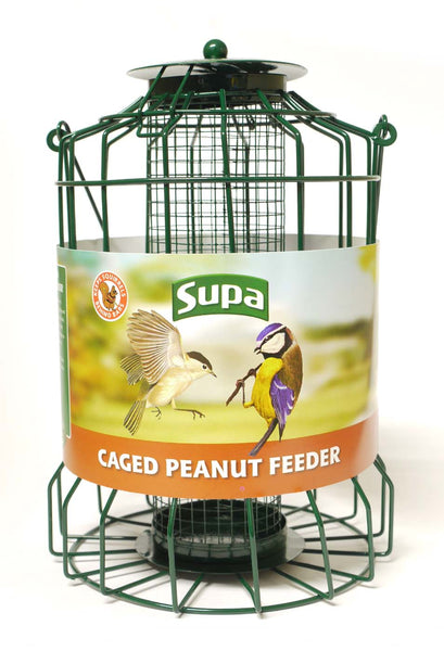 Supa Wild Bird caged Squirrel Proof Feeders