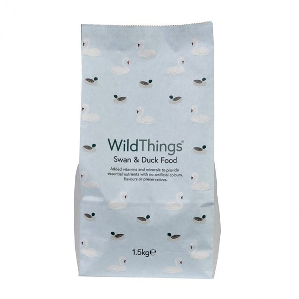Wild Things Complete Dry Swan and Duck Food 1.5 kg