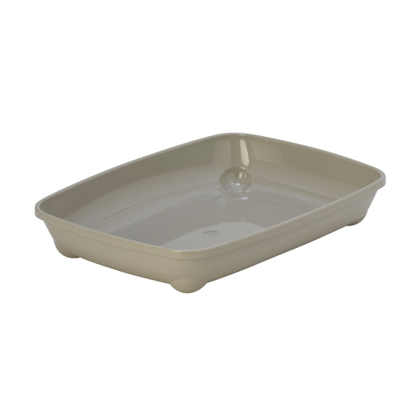 Small Cat Litter Tray Grey 37cm