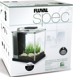 Fluval Spec Aquarium Fish Tank 10L in White