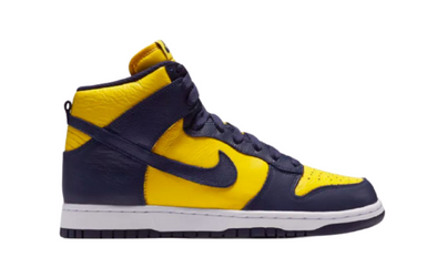 Nike Dunk High Michigan Release Date & Review
