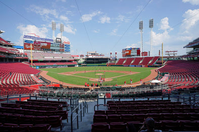 In a fanless crowd, Reds grounds crew gave team a boost