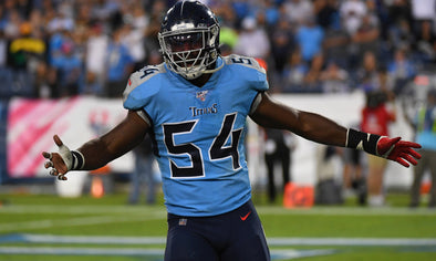 For throwing punch, Titans LB Evans ejected