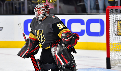 Rumored contract with Golden Knights untrue, Vegas' Robin Lehner denies report