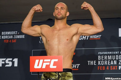 Former title challenger Volkan Oezdemir and Nikita Krylov set to co-headline UFC Fight Night on Oct. 17