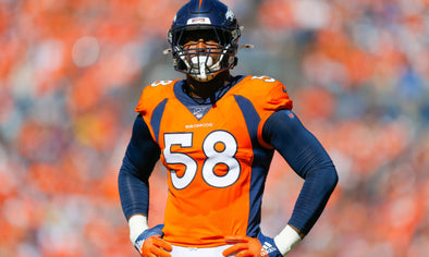Denver Broncos' dynamic pass rusher, Von Miller, slated to be sidelined after sustaining lower leg injury, needs season-ending surgery