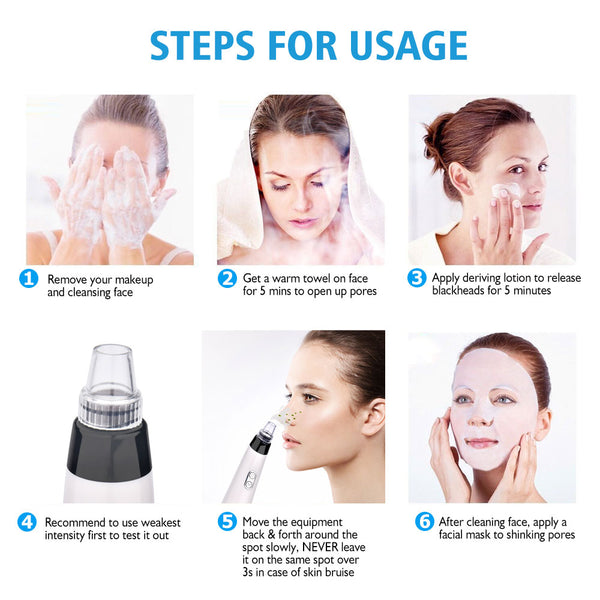 Blackhead Remover Face Deep Pore Cleaner