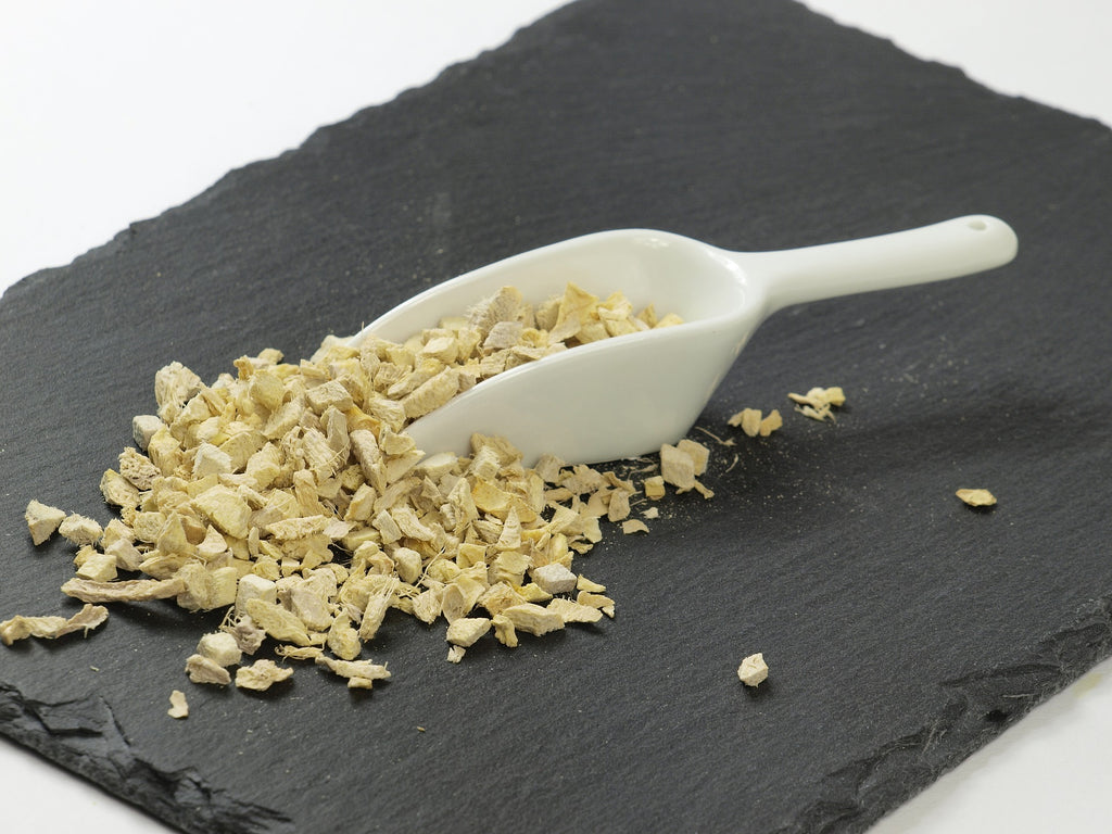 dried ginger in cough-ease herbal supplement