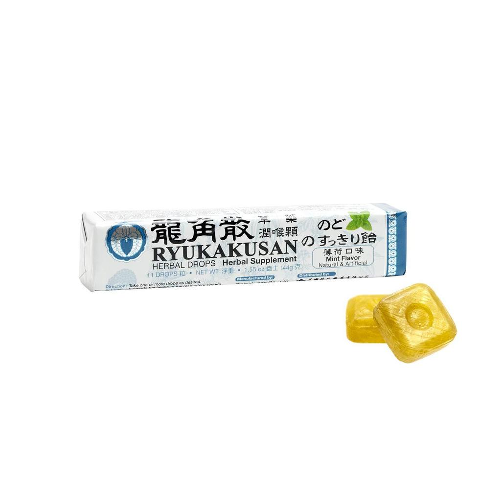 RYUKAKUSAN HERBAL DROPS - MINT FLAVOR (STICK) - Herbs Depo