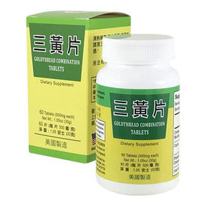 GOLDTHREAD COMBINATION TABLETS - Herbs Depo