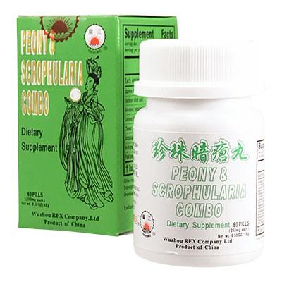 MARGARITE COMBO PILLS FOR ACNE (CAI FENG ZHEN ZHU AN CHUANG 珍珠暗瘡膏) - Herbs Depo