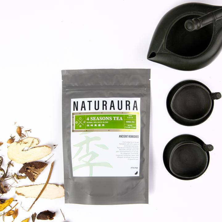 NATURAURA - 4 SEASONS WELLNESS TEA 四時萬應茶 - Herbs Depo