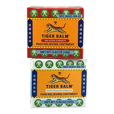 TIGER BALM 虎標萬金油 (REGULAR OR EXTRA STRENGTH) - Herbs Depo