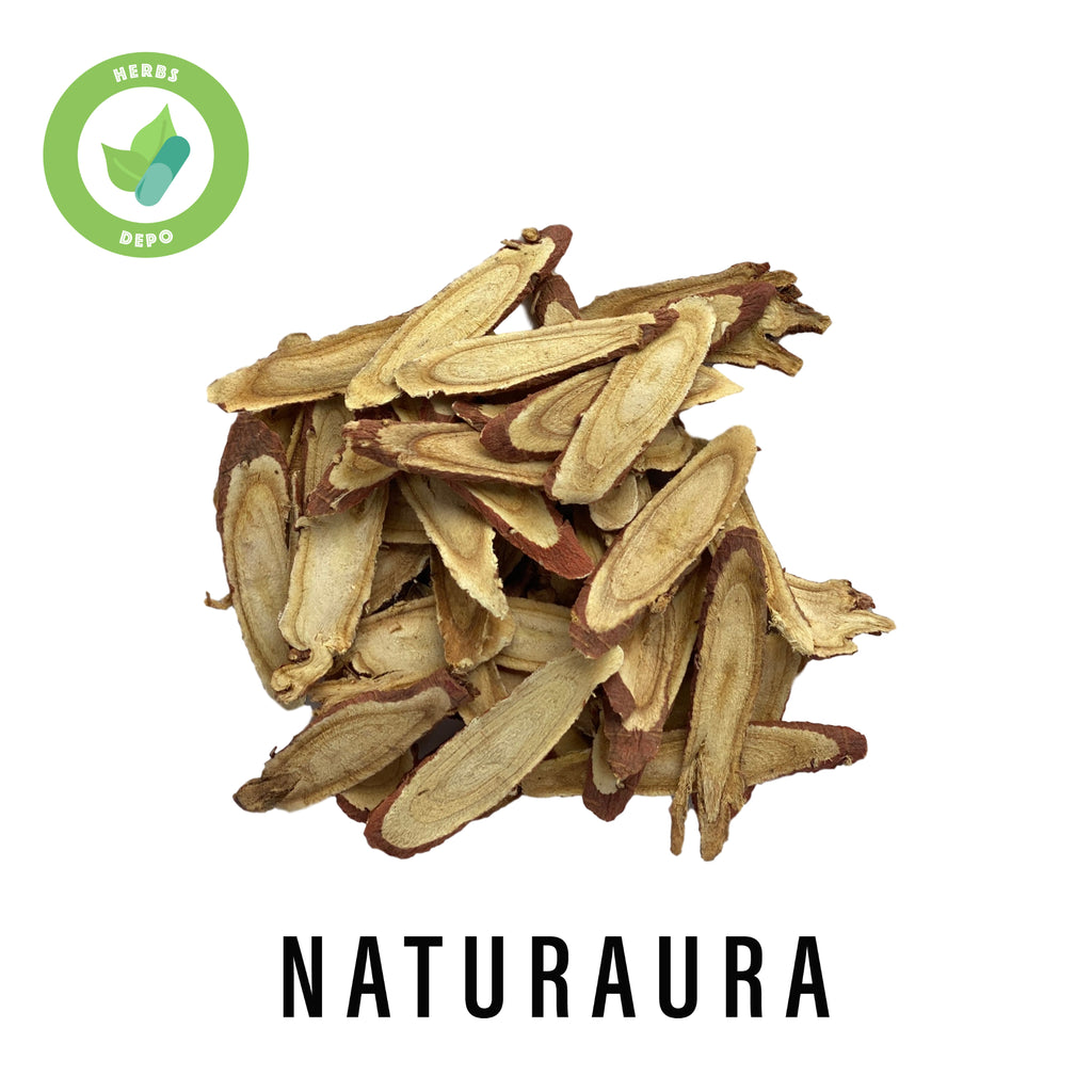 NATURAURA - PREMIUM GAN CAO 甘草 - SLICED CHINESE LICORICE ROOT - RADIX GLYCYRRHIZAE - Herbs Depo