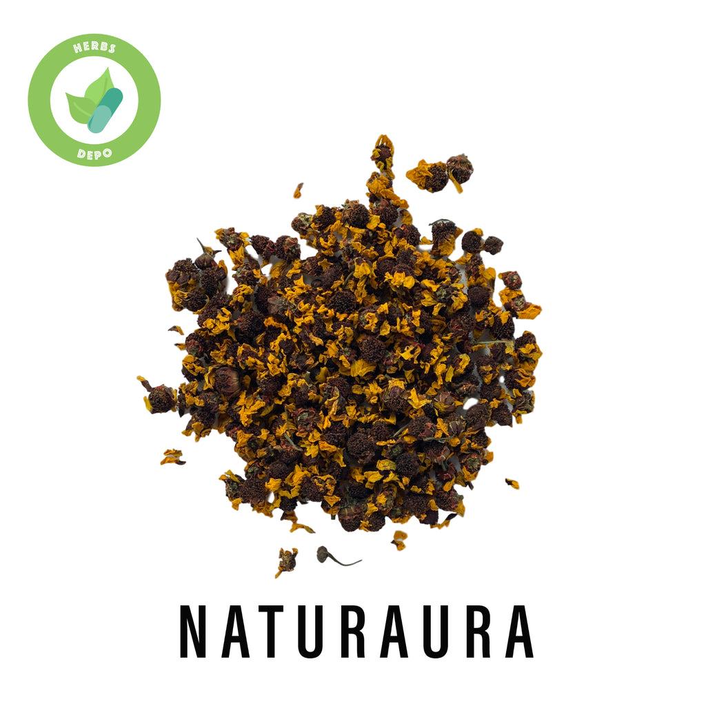NATURAURA - PREMIUM SNOW CHRYSANTHEMUM 雪菊 - COREOPSIS TINCTORIA - Herbs Depo