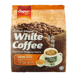 SUPER CHARCOAL ROASTED WHITE COFFEE BROWN SUGAR - Herbs Depo