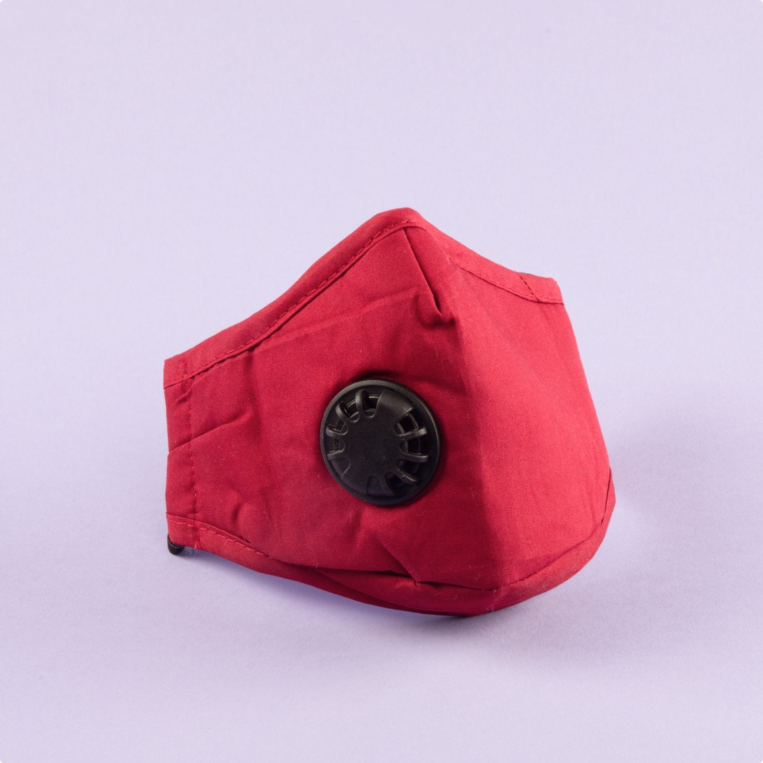 Red PM 2.5 Reusable Cloth Face Mask