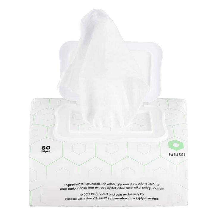 Parasol Wipes | Unscented, Plant-Based, 99% Water 600-Pack ($.08/wipe)