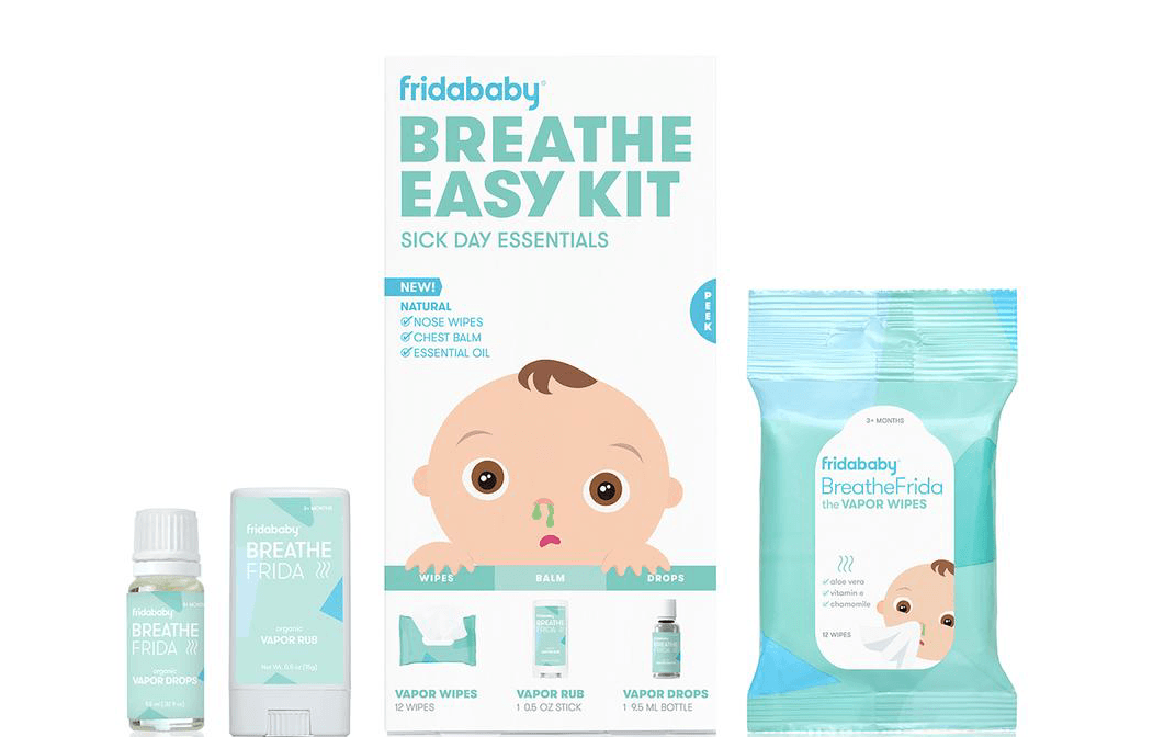 Fridababy Breathe Easy Kit | The Sick Day Essentials