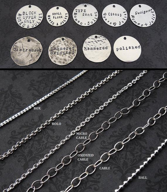 Custom Listing for Terri Thunker - Grandma's Blessings necklace with 24 inch chain