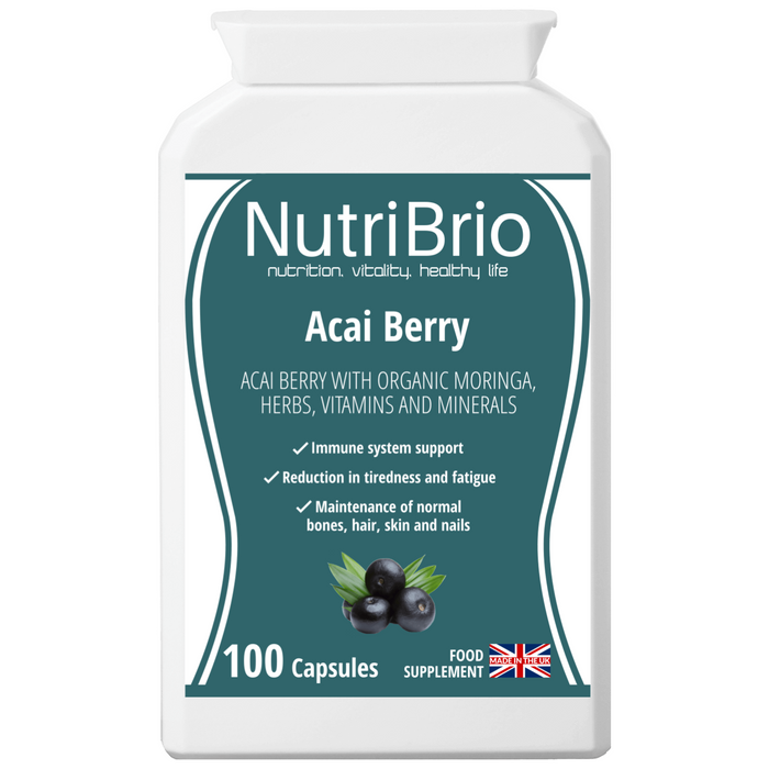 Acai Berry Supplement Made In The UK