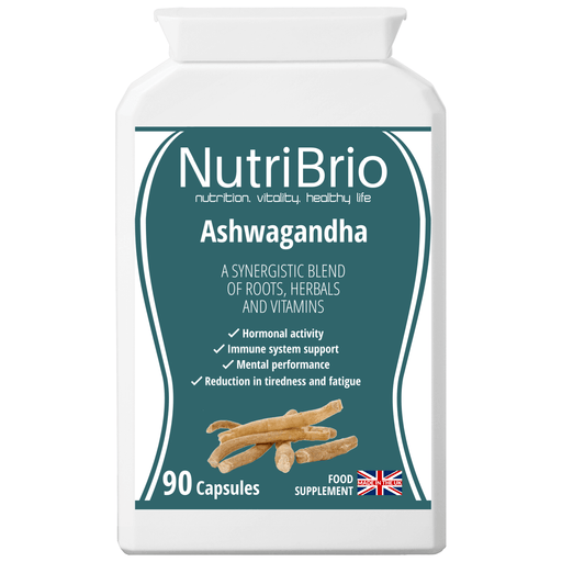 Ashwagandha UK Made - Nutri Brio