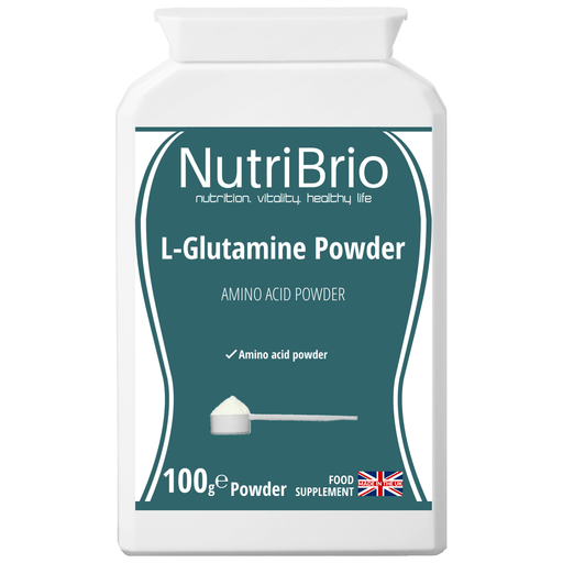 L-Glutamine Powder - nutri-brio