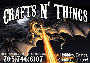 Crafts N' Things Hobbies & Games  store logo