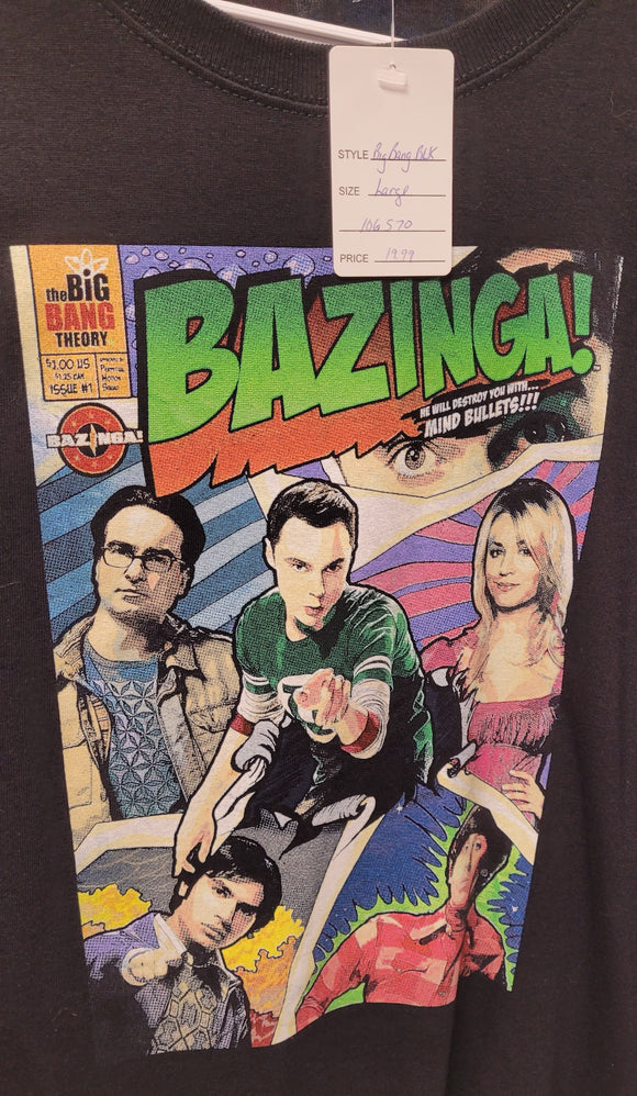 Big Bang Theory Comic book Cover T-Shirt