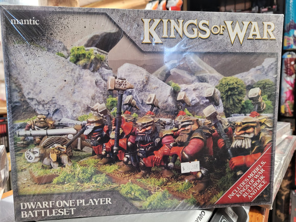 Kings of War Dwarf One Player Battleset