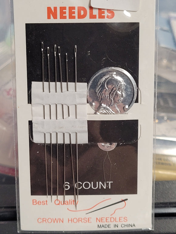 Beading Needles - 6pc Package