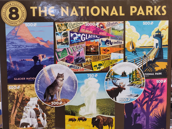 The National Parks 8 Puzzles