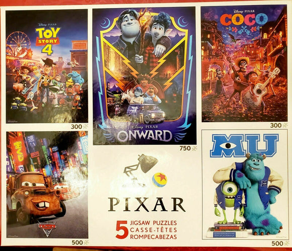 Disney 5 in 1 puzzles Pixar