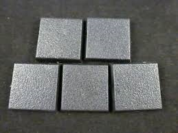 Bases:  Citadel 50mm Square Bases