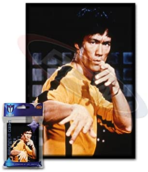 Small Art Sleeve - Bruce Lee - Deck Protector Sleeves (60 Count)