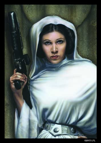 Fantasy Flight Games Star Wars Art Sleeves: Princess Leia