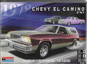 REVELL-MONOGRAM MODEL CARS 1/24 1978 CHEVY EL CAMINO (3 IN 1) KIT