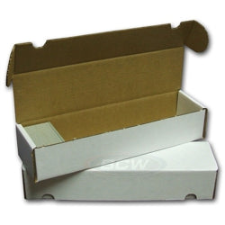 800ct CARDBOARD CARD BOX