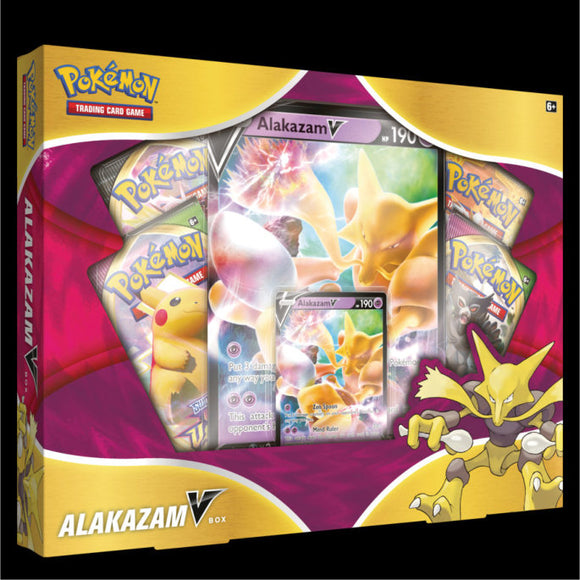POKEMON: ALAKAZAM V BOX