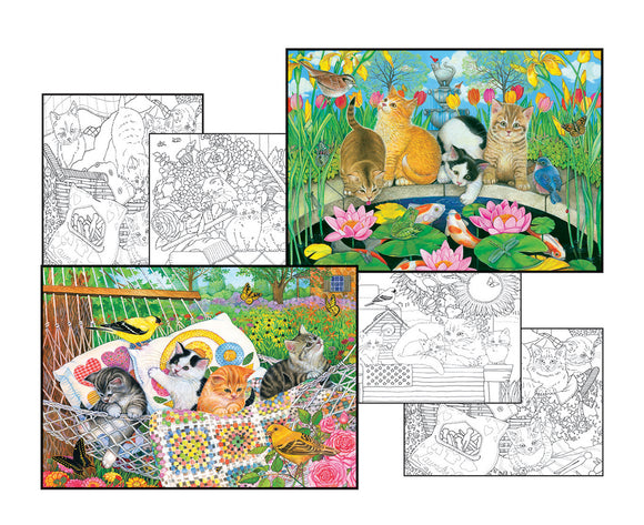 Amy Rosenberg Color Pages Puzzles