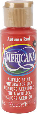 Americana  Autumn Red