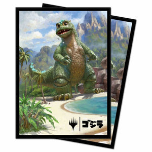 Magic The Gathering: Ikoria - Babygodzilla Ruin Reborn - Ultra Pro Sleeves V.5 (100CT)