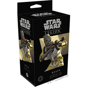 Star Wars Legion Bossk Operative Expansion