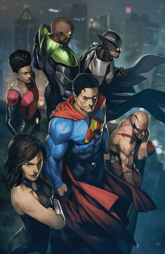 Crime Syndicate #1 variant cover