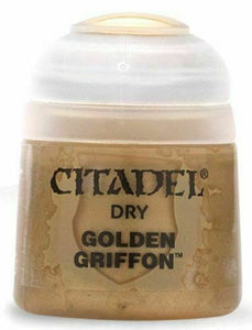 Dry Golden Griffon